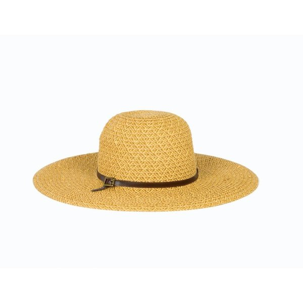 "Lady Bird sale-5"" Brim Black, Camel Hat"