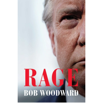 Rage by Bob Woodward - Signed HB