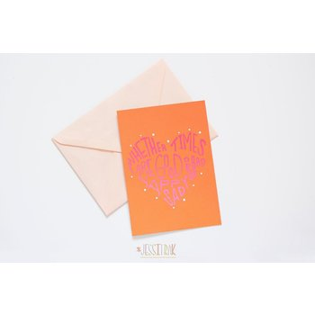 Sale sale-Let's Stay Together blank card