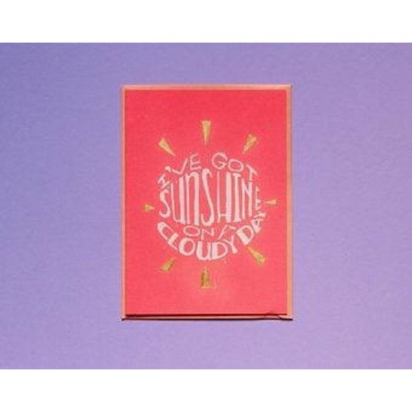Sale sale-I've Got Sunshine Blank Card