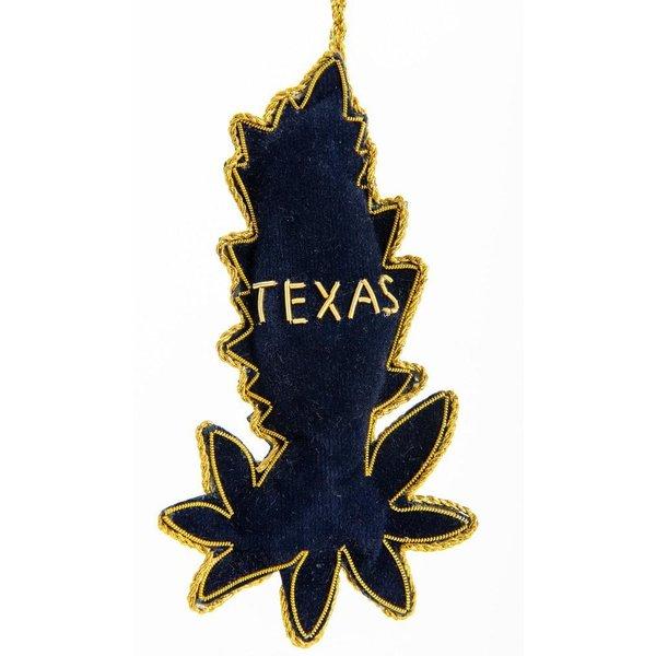 Lady Bird Bluebonnet Jeweled Ornament