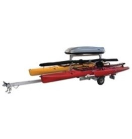 Hobie Hobie Trailer, Aluminum, for 2 Adventure Islands
