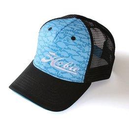 Hobie Hobie Hat Blue/Black Fish Pattern