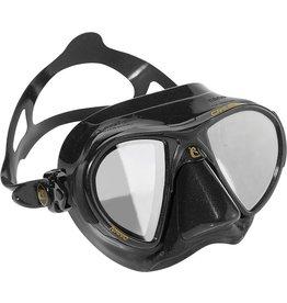 Cressi Cressi Nano Black Mask w/ HD Miror Lens