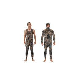 Riffe Riffe Covi-tek 2 Piece Farmer John 5MM Wet Suit