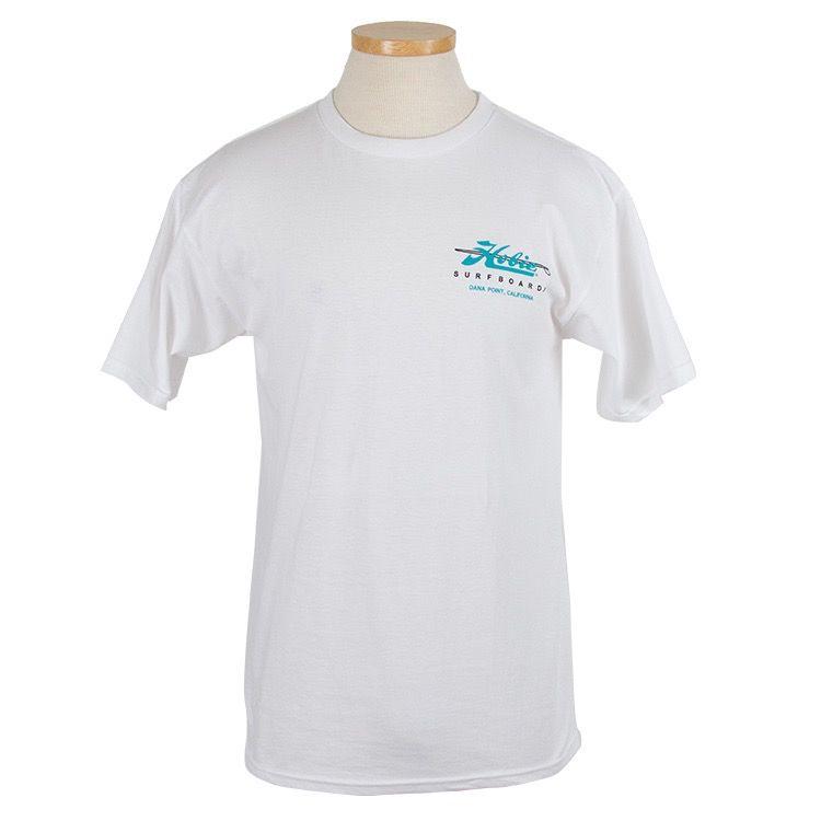 6e58fb4eca Hobie Classic White T-shirt, Short Sleeve, Surboards