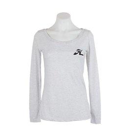 Hobie Hobie Ladies Long Sleeve T-Shirt, Scoop Neck, Flying H Logo
