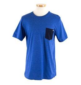 Hobie Hobie Royal Blue T-Shirt, Short Sleeve, Hobie Fishing Logo in White