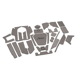 Hobie Hobie Mat Kit for Hobie Pro Angler 12 - Gray/Charcoal