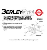 BerleyPro BerleyPro Humminbird Helix 7 Visor - BP2902