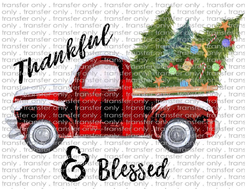 Red Christmas Truck.Siser Red Christmas Truck Plaid