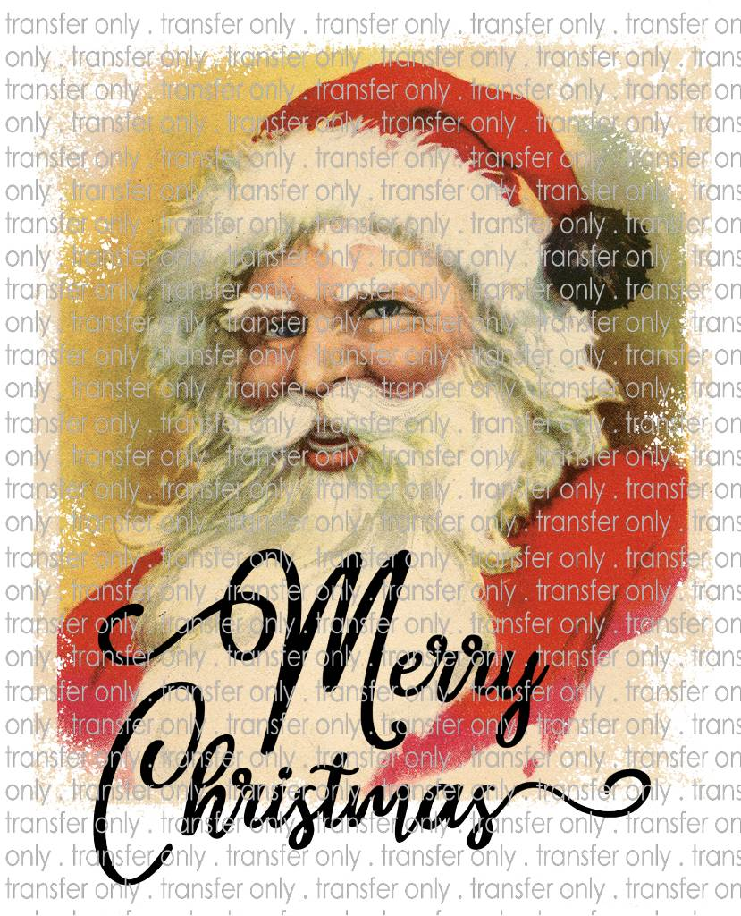 Siser Vintage Santa Merry Christmas Taylored Vinyl