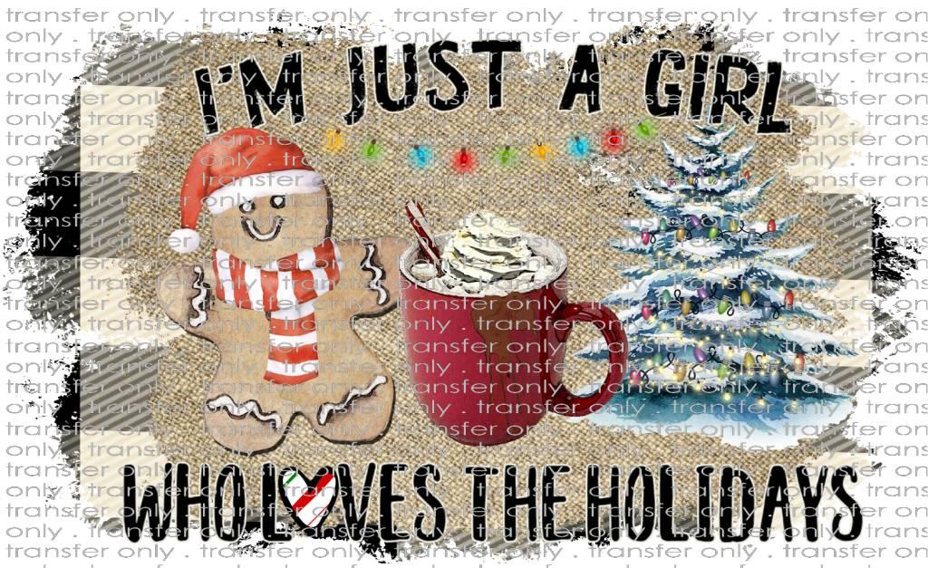 Siser Just A Girl Christmas Taylored Vinyl