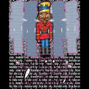 Siser CHR207 Nutcracker Merry Christmas