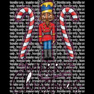 Siser CHR206 Merry Christmas Nutcracker Candy Cane