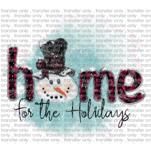 Siser CHR229 Home for the Holidays Snowman