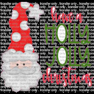 Siser CHR227 Holly Jolly Christmas Santa