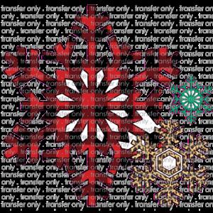 Siser CHR226 Buffalo Plaid Snowflake
