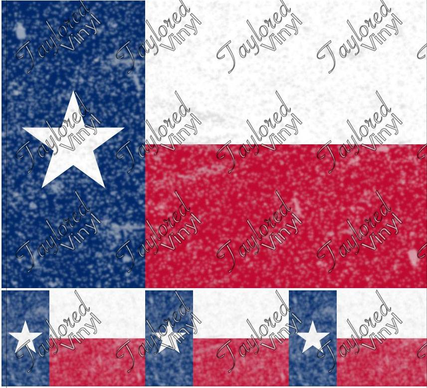 Flags Distressed Texas Flag Printed Htv Taylored Vinyl