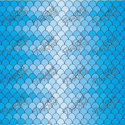 Oracal Ombre Scales Blue Printed Vinyl Taylored Vinyl