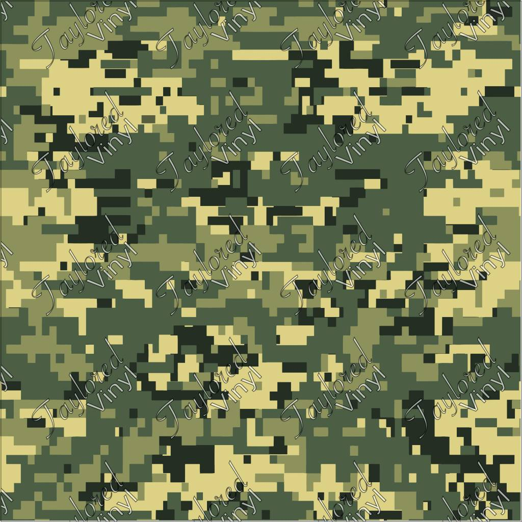 outlet online low price sale new high quality Oracal Camo Digital Woodland 02 Printed Vinyl