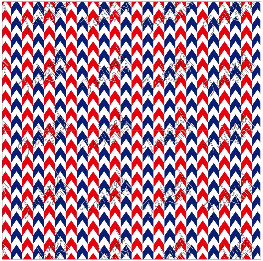 siser 4th of july red white and blue arrow printed htv taylored vinyl