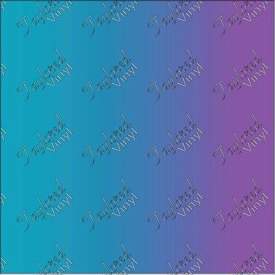 siser ombre light blue to purple printed htv taylored vinyl
