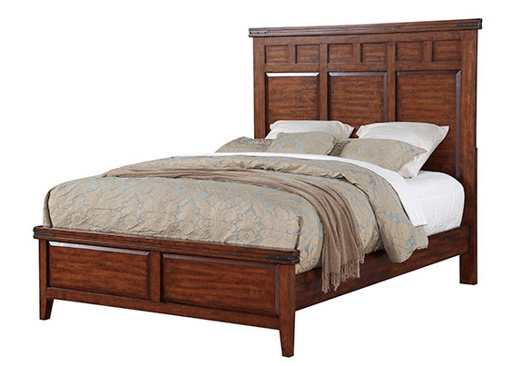 Mango King Panel Bed Oak And More