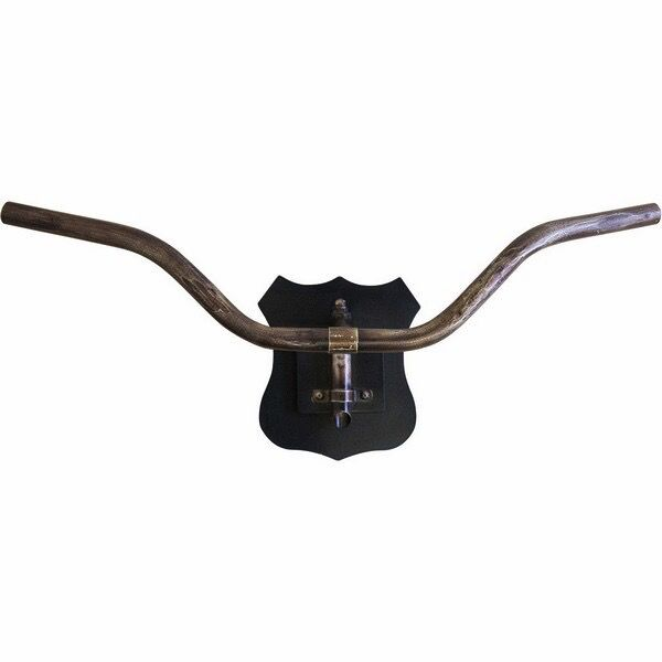 ACCESSORIES CYCLE II MOUNTED METAL HANDLE BAR WALL ART