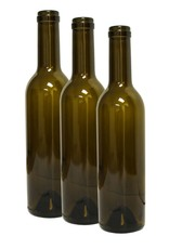 LD CARLSON 375mL ANTIQUE GREEN SEMI-BORD. MID-PUNT BOTTLES 12/CASE