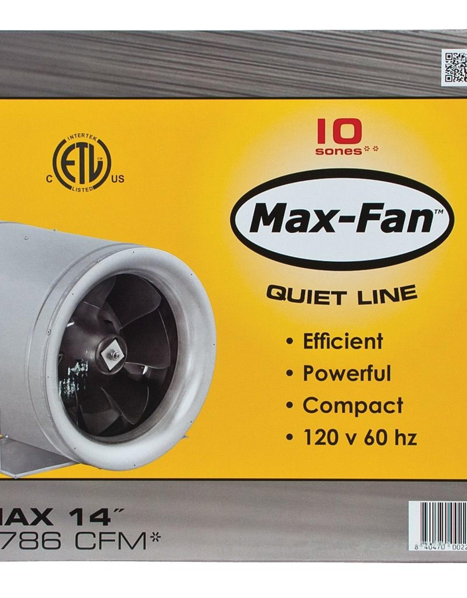 """CAN FAN Can-Fan Max-Fan, 14"""", 1823 cfm"""