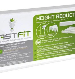 Fast fit Fast Fit Height Reduction Kit 4 in Leg - 4 Pcs