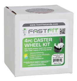 Fast fit Fast Fit Caster Wheels - 4 pc