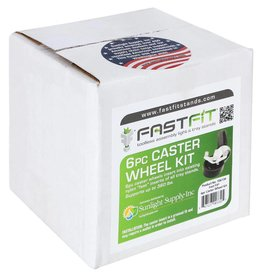 Fast fit Fast Fit Caster Wheels - 6 pc