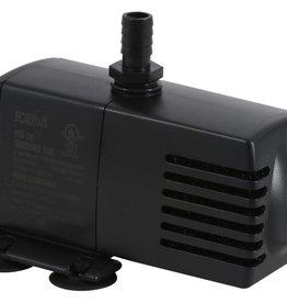 ECOPLUS EcoPlus® Fixed Flow Rate Submersible or Inline pumps are great for a variety of application including hydroponics, aquariums, ponds and more. These magnetic driven pumps are constructed with a high quality rare earth rotor magnet which helps deliver an ef