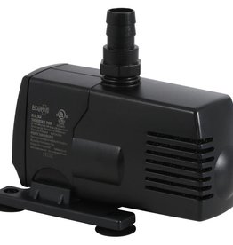 ECOPLUS This submersible water pump is great for everything from fountains to hydroponic systems. Powerful oil free high magnetic rotor. Ceramic shaft and bearing insures reliability. Trouble free one moving part. Strainer protects impeller from damage.<br /><br />28 watts