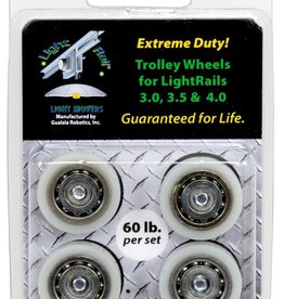 GUALALA ROBOTICS LightRail Heavy Duty Trolley Wheel Replacement Kit