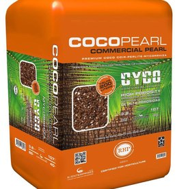 CYCO Cyco Coco Pearl with Mycorrhizae is a mixture of coco peat and perlite. Our product combination is able to display the RHP stamp of quality as both the coco and perlite are sourced in Europe and both are RHP certified. The combination of the two RHP certi