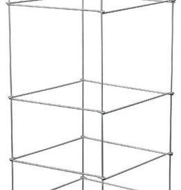 GROWERS EDGE Grower's Edge High Stakes Folding Tomato Cage - 5 Tier - 48 in x 15 in x 15 in