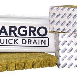 GRODAN Grodan Pargro QD Jumbo Block 6 in x 6 in x 4 in w/ Hole (36/Cs)