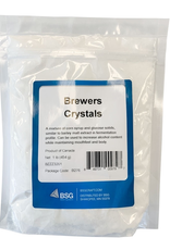 bsg Brewers Crystals (Globe 55 HM Corn Syrup/Glucose Solids) are a mixture of corn syrup and glucose solids, similar to barley malt extract in fermentation profile. Can be used to increase alcohol content while maintaining mouthfeel and body.<br /> <br /> *Limited availa