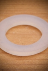 bsg Inner Diam.0.81″<br /> Outer Diam.1.25″<br /> This silicone gasket is an excellent addition to any coupling. The food-grade silicone enhances the seal between metal components and can withstand temperatures over 450 °F.