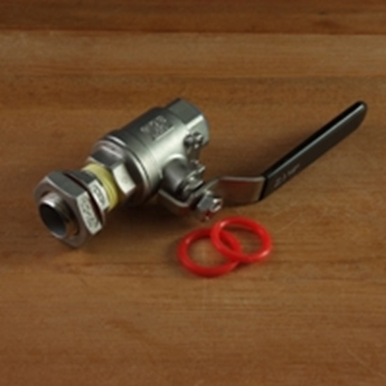 bsg Input Fitting0.5″ Male NPT<br /> Output Fitting0.5″ Female NPT<br /> Port Diam.0.5″<br /> This valve performs well and is built to last. Made of 304 Stainless Steel with high-temperature tolerant Teflon® seals, the valve is durable and can be easily dismantled for clean