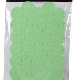 EZCLONE Ez-Clone Colored Cloning Collars Green (35/Bag)