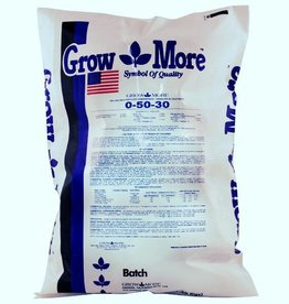 GROW MORE Grow More® Fertilizers are formulated to supply sufficient amounts of extra nutrients for high yields. High solubility, purity and the special forms of nitrogen, phosphorus and potassium make Grow More® Fertilizers the ideal product. Hardener is designed