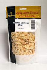 BREWERS BEST Thick slcies of white meat of fresh and mature coconut full fat that is toasted to the desired color.