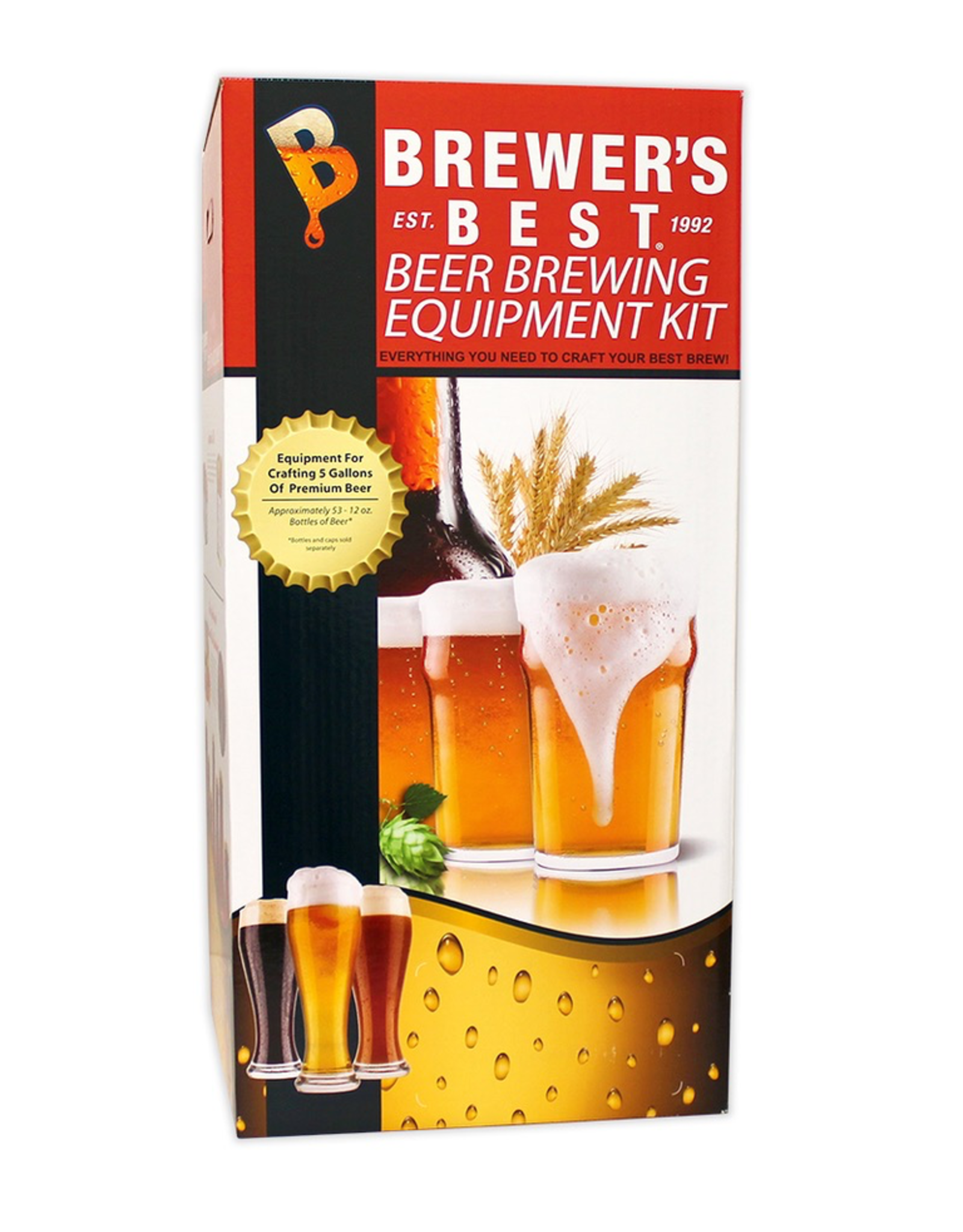 BREWERS BEST BREWER'S BEAST EQUIPMENT KIT WITH PET CARBOY