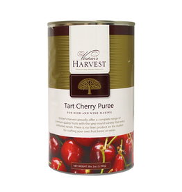 VINTNER'S Red Tart Cherry Puree is prepared from ripened, washed and sorted Red Tart Cherries. Red Tart Cherries are harvested in July through the beginning of August. The product contains no preservatives and no additives.
