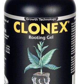 Hydro Dynamics Clonex® is a high performance, water-based, rooting compound. It is a tenacious gel which will remain in contact around the stem, sealing the cut tissue and supplying the hormones needed to promote root cell development and vitamins to protect the delicat