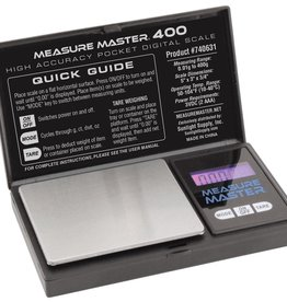 MEASURE MASTER Measure Master 400g High Accuracy Digital Scale - 400g Capacity x 0.01g Accuracy